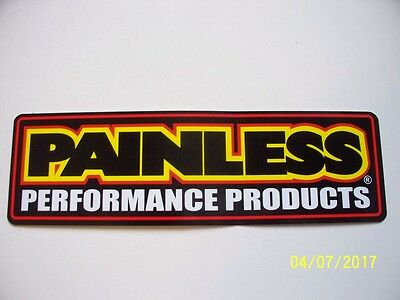 """ORIGINAL  RACING  DECALS  """"  Painless  Performance  Products   """" 9 """" X 2.75 """""""