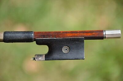 Old French Violin Bow L.MORIZOT, good condition