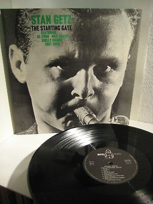 Stan Getz - Starting Gate  BYG Records France BYG 529115, nm