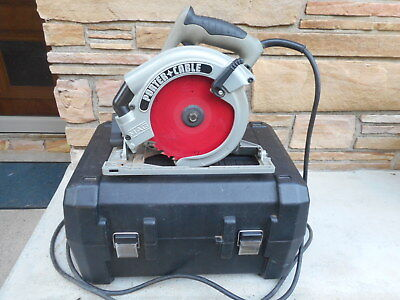 Left Hand 7.25 Circular Saw With Case Porter Cable