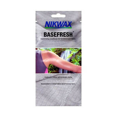 Nikwax Basefresh Deodorising In-wash Conditioner for technical base layers 50ml