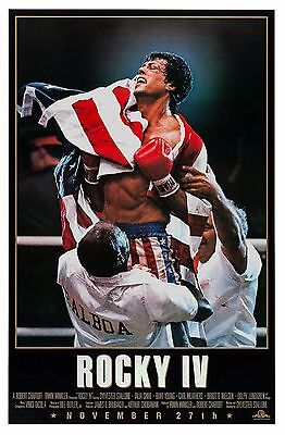Rocky Iv (1985) Original Advance B Movie Poster  -  Rolled