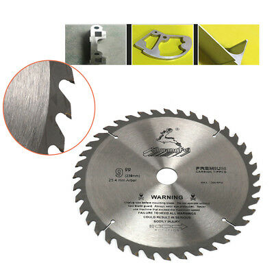 9 Inch Circular Sawing Blade Wood Cutting Round Disc Sawing Cutter Tools 40T/60T