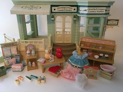 Sylvanian Families COUNTRY MARKET 4056 Flair Used Calico Critters