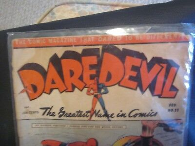 Daredevil #22 Lev Gleason Golden Age  Comic Book