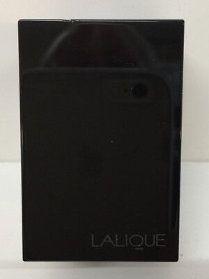 Rare  Lalique Paris STORE DISPLAY SIGN Black Glass Advertising Collactable