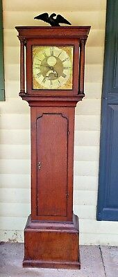 18th Century Longcase Clock by Joseph Donisthorpe of Leicestershire~Dated 1760~