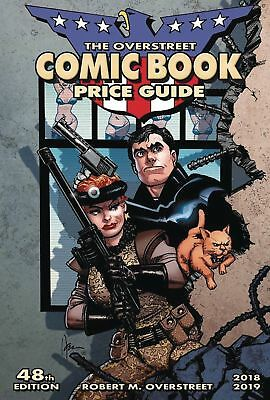 OVERSTREET 2018 2019 COMIC BOOK PRICE GUIDE #48 SOFTCOVER American Flagg CVR SC