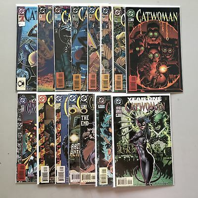 Lot of 15 Catwoman (1993 2nd Series) from #1-93 Annual #1 2 VF-NM Near Mint