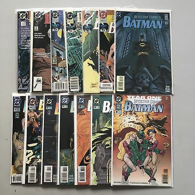 Lot 14 Detective Comics (1937 1st Series) from #600-690 Annual #8 VF Very Fine