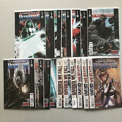 Run Lot of 17 Ultimates (2011 Marvel Ultimate Comics) #2-18 NM Near Mint
