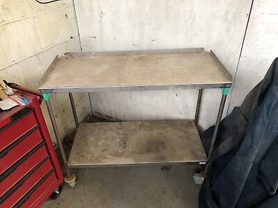 Veterinary Consulting Examination Table Stainless Steel Vet Surgical Bench