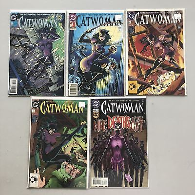 Lot of 10 Catwoman (1993 2nd Series) from #0 1-82 VF-NM Near Mint