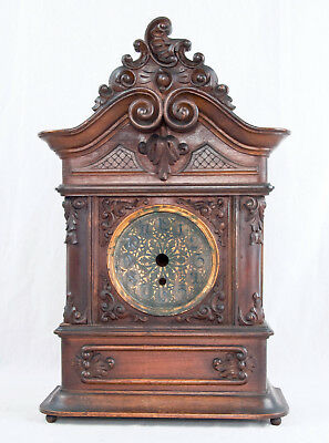 Viennese Baroque style large shelf clock case only @ 1890 Outstanding!