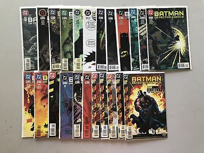 Lot of 23 Detective Comics (1937 1st Series) #702-719 734-738 VF Very Fine