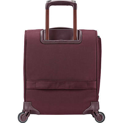 Samsonite Flexis Underseat Carry-on Spinner Carry-On Luggage, Cordovan color