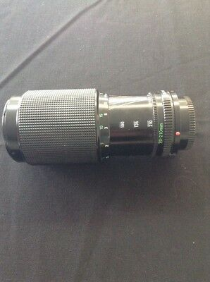 Canon Zoom Lens FD 70-210mm 1:4 Camera Lens Free Shipping