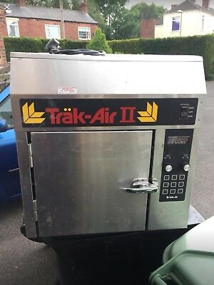 Trak-Air Trak Air Two 2. This is a ventless greaseless oven / cooking Track Air