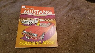 1979 ford mustang Coloring Book.