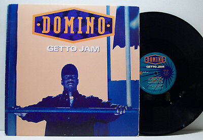 "DOMINO - getto jam 12"" DJ BATTLECAT 90s gangsta rap G-FUNK outburst USA ORIG"