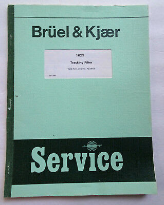 Bruel & Kjaer 1623 Service Manual, Used