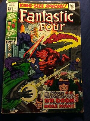 The Fantastic Four king-size special #7 1969