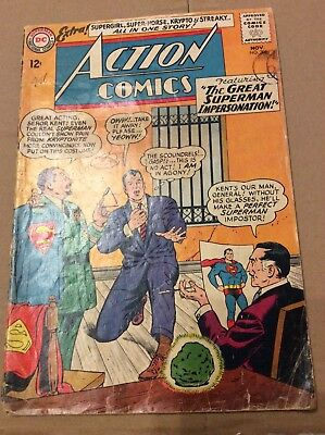 ACTION COMICS # 306 The Great Superman Impersonation