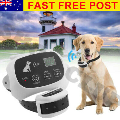 Wireless Electric Dog Fence 500M Pet Fencing Collar System Boundary Waterproof