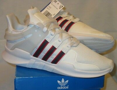 sports shoes f23cd a045d NIB Mens 9 ADIDAS Originals EQT SUPPORT ADV SHOES BB6778 WHITE Navy Red  Advance