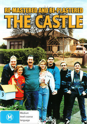 The Castle (Re-Mastered and Re-Plastered) - DVD (NEW & SEALED)