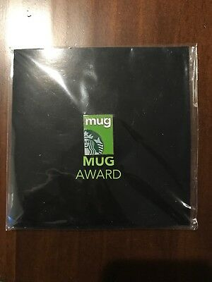 "Starbucks Coffee ""MUG Award"" Limited Edition Hat Apron Pin Brand New"