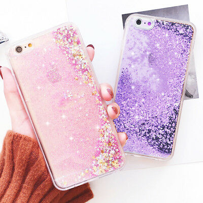 moving stars liquid glitter quicksand case cover protector skin for