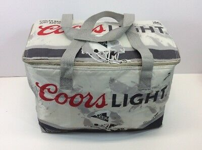 Coors Light Beer Soft Cooler Collapsible Bags Nfl Football Insulated