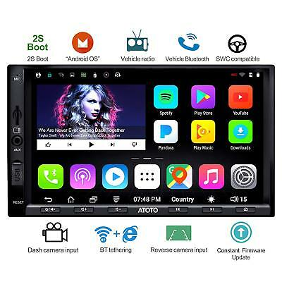 ATOTO A6 2DIN Android Car GPS RADIO 1G+16G /A6Y2710SB/Fast Boot /Dual Bluetooth