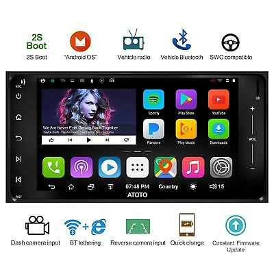 ATOTO A6 2DIN Android Car GPS Stereo 2G+32G /for Toyota /A6YTY721P/ 2*Bluetooth