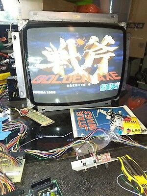 Golden axe PCB tested working
