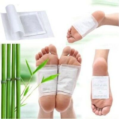 Kinoki Natural Detox Foot Pad Promote Circulation Sleep Relieve Fatigue Detoxify