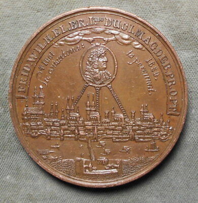 Magdeburg Germany 200th Anniversary Duchy Of Magdeburg 1680 - 1880 H. Held f.