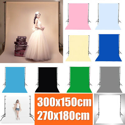 Solid Color Photography Screen Backdrops Studio Photo Background Prop Decoration