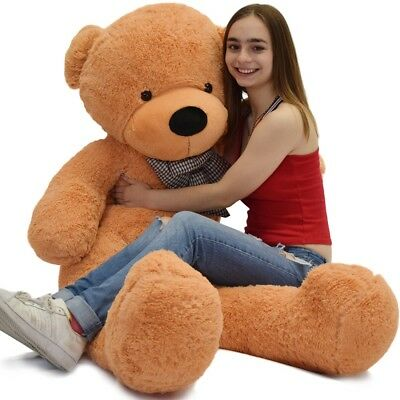 "Giant Big Teddy Bear Huge Stuffed Plush Animal Toy Doll 47"" Valentine Girls Gift"