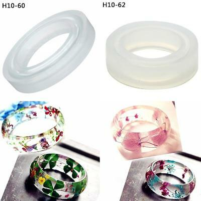 60MM 62MM Resin Bracelet Mold Jewelry Making Round Silicone Bangle Mould AU