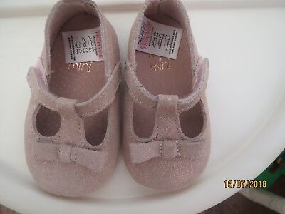 baby girls soft pram  shoes from next  age 3-6 months new