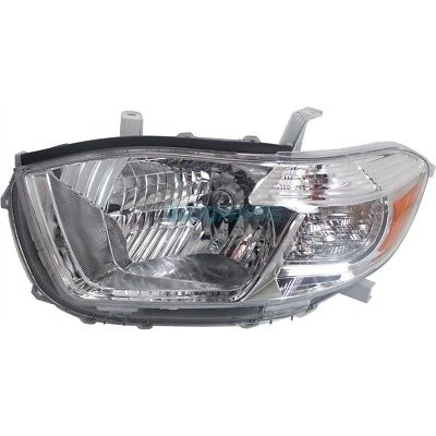 New Left  Head Lamp Assembly Fits 2010 Toyota Highlander To2502201C Capa