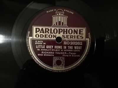 Richard Tauber Little Grey Home.../In Your Arms To-Night Parlophone Odeon R20262