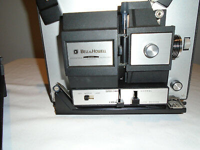 Bell & Howell Autoload 461A  8mm  and Super 8 Motion Movie Projector table