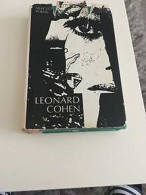 Leonard Cohen Selected Poems 1969. Vintage Book. Collectors Item, first edition