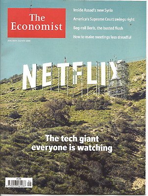 The Economist 30th - 6th July 2018 Economics & Current Affairs Weekly
