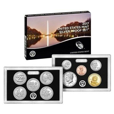 2017 United States US Mint Silver Proof Set with COA