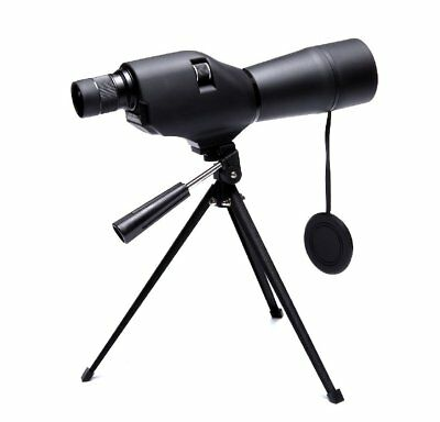 ANS 20-60x60mm Zoom Angled Spotting Scope Waterproof with Tripod Soft Case