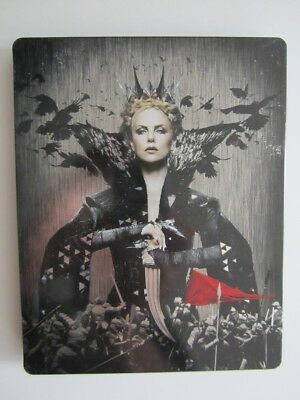 Coffret Blu-Ray Blanche Neige Et Le Chasseur Edition Steelbook Collector Fr Vf